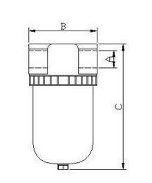 Vacuum Liquid And Dust Filter
