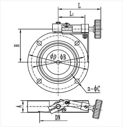 Gi C Series High Vacuum Butterfly Valvevacuum Valvesvacuum Pump