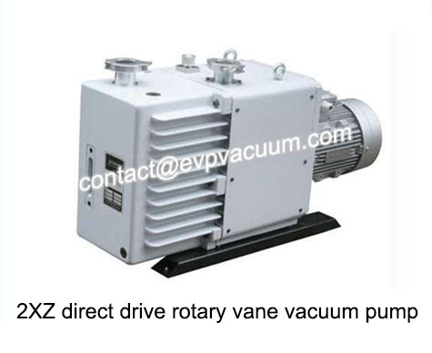 2XZ direct drive rotary vane vacuum pump