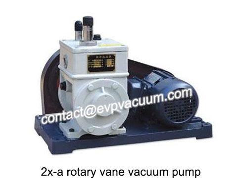 Stainless steel rotary vane vacuum pump
