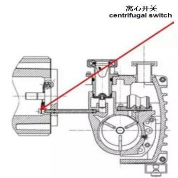 Two-stage rotary vane vacuum pump