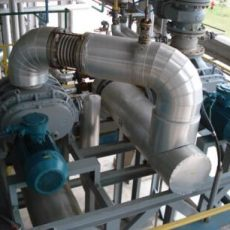 Vacuum System of Dry mechanical pump