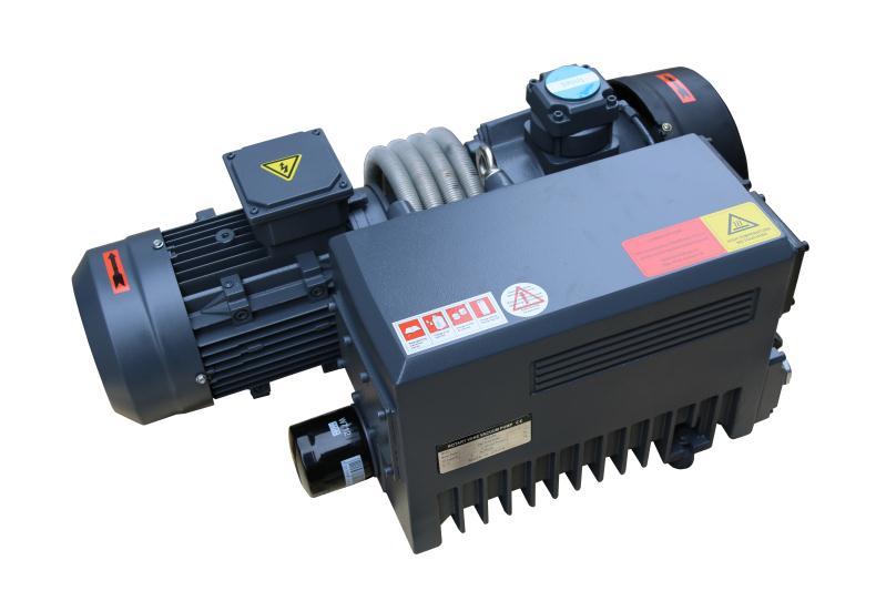 Oil-type rotary vane vacuum pump