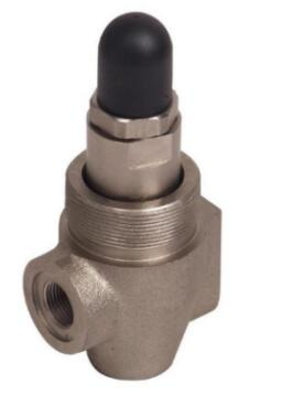 Direct acting overflow valve
