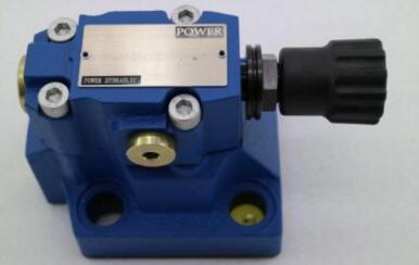 pilot type relief valve