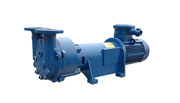 Water ring vacuum pump in paper industry
