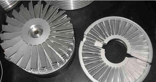 dynamic and static blade diagram of turbo molecular pump