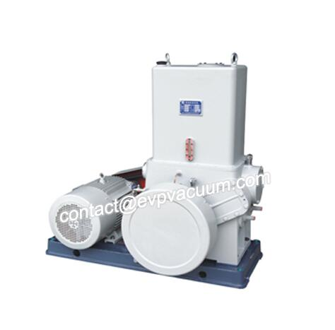 Piston Vacuum Pump in Plastic Degassing