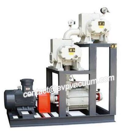 Roots Vacuum Pump Used in Vacuum Furnace
