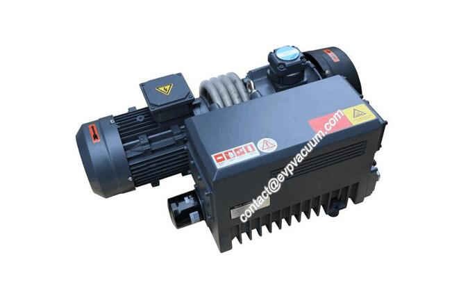 High performance rotary vane vacuum pump