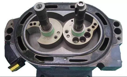 claw type vacuum pump Structure