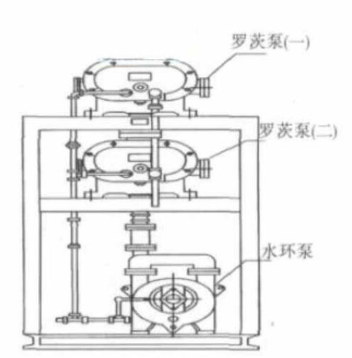 Vacuum pump for refining edible oil
