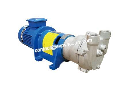 Water ring vacuum pump for vacuum chucks?