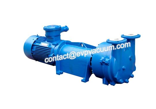 Vacuum pump for gas collection
