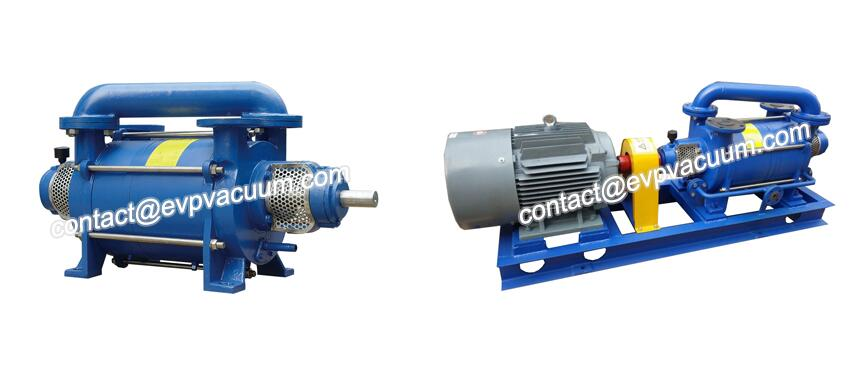 Two-stage vacuum pump