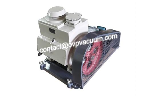 Vacuum pump for vacuum dehydration