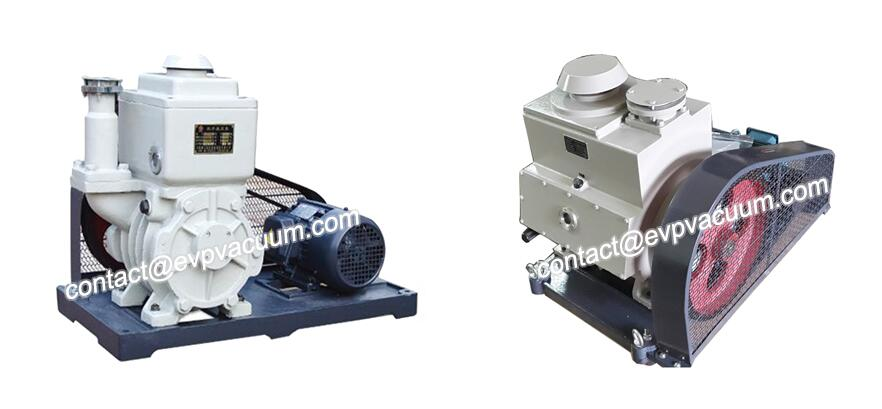 Oil-type rotary vane vacuum pump