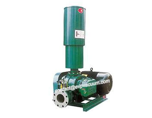 Roots blower for powder delivery