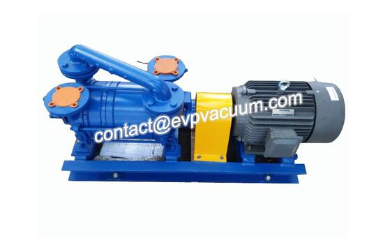 Vacuum pump for vacuum evaporation