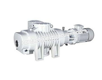 Complete line of Roots vacuum pumps