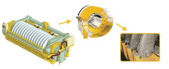 Liquid-Ring-Vacuum-Pump-in-Ceramic-Vacuum-Filter
