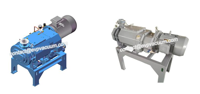 Dry screw vacuum pump product display