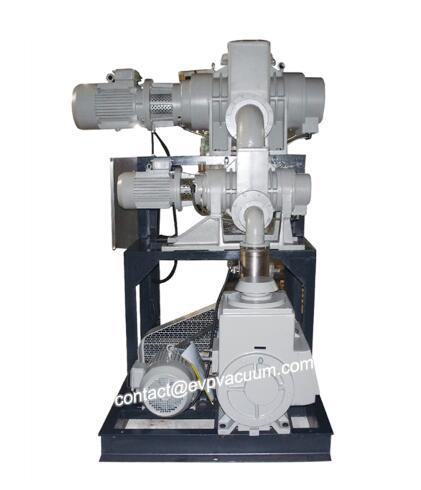 Plastic industry vacuum system