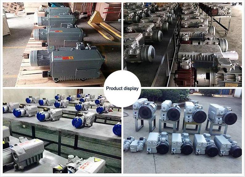Vacuum pump for industrial clamping