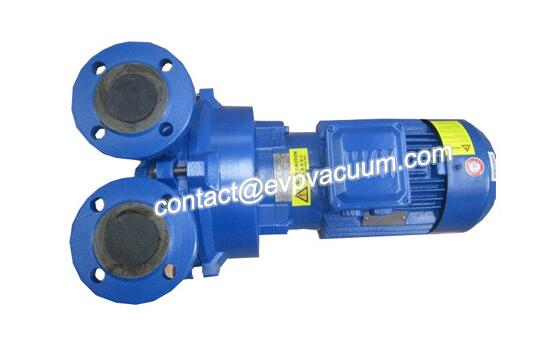 Vacuum pump for textile industry