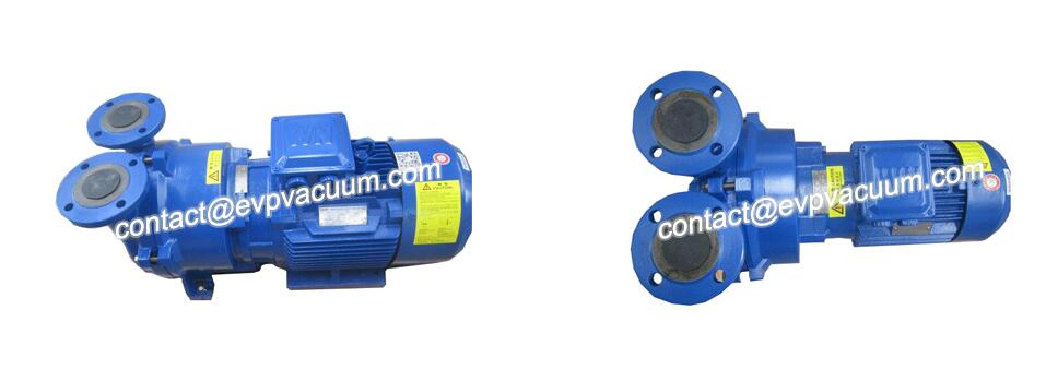 Vacuum pump for kneader