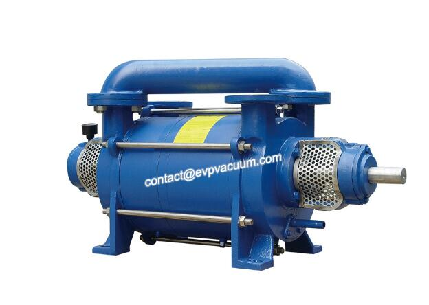 Ductile liuq liuqid ring compressor