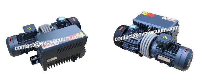 New Rotary Vane Vacuum Pumps