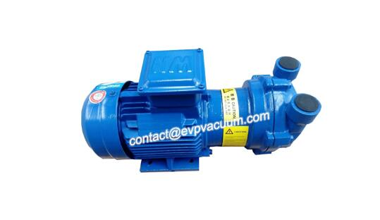 Vaccum pump for extruder machine