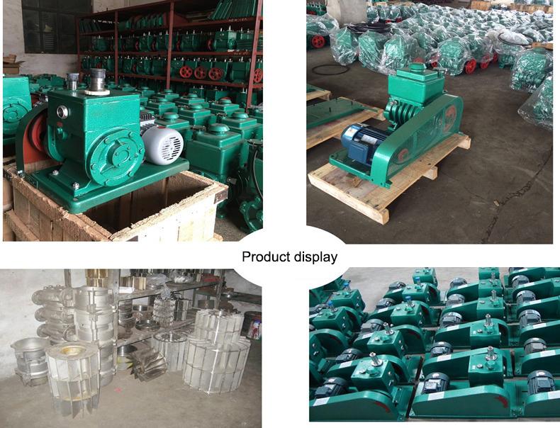 Vacuum pump for degassing