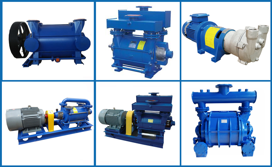 Vacuum pump for plastic industry