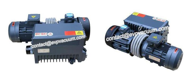 Vacuum pump for vacuum vulcanization