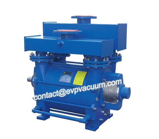 Vacuum pump for bottle blow moulding