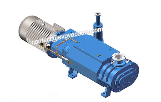 Screw Vacuum Pump in Photovoltaic Solar Energy