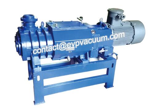 Screw Vacuum Pump in Solvent Recovery