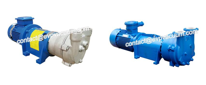 Vacuum pump for methane extraction
