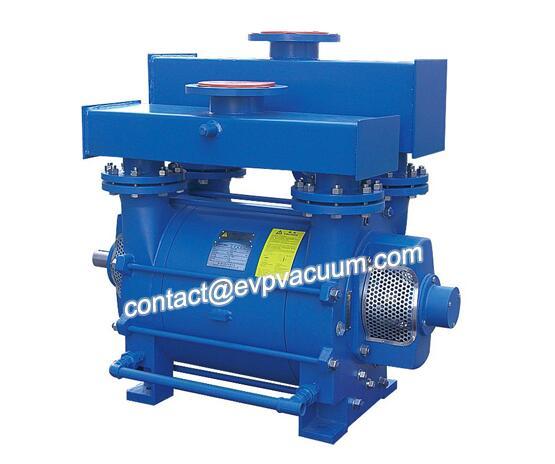 Vacuum pump for vacuum cooling