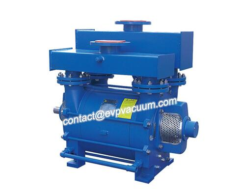 Vacuum pumps for making magnetic materials