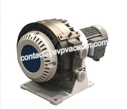 Dry scroll pump
