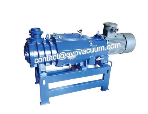 Screw vacuum pump production process