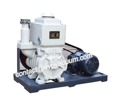Vacuum pump for vacuum impregnator