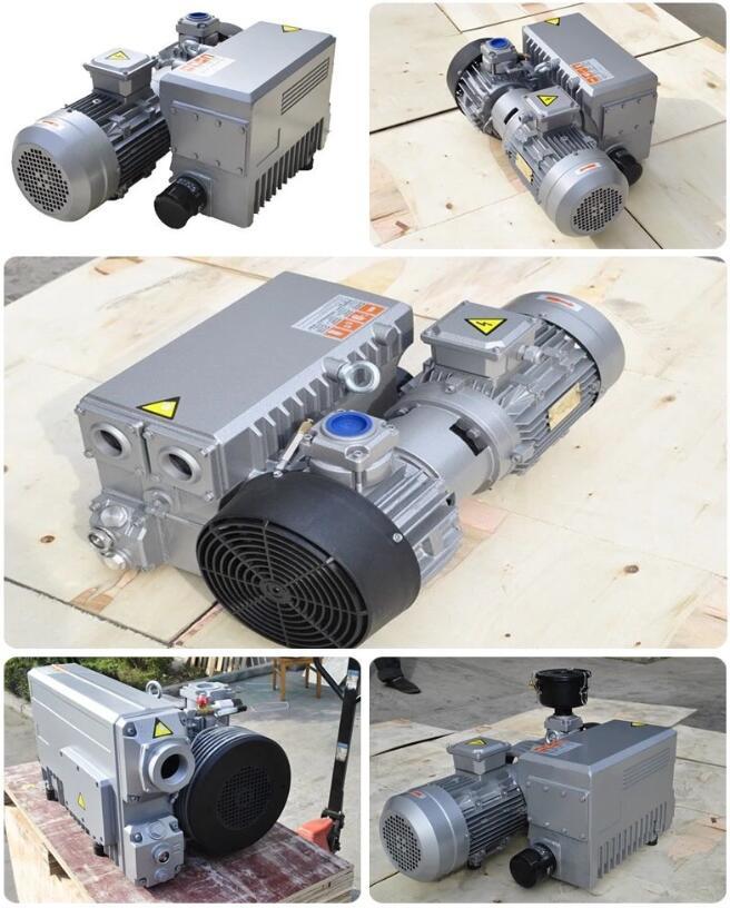 Degassing vacuum pump