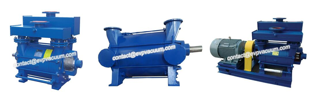 Liquid ring pump for chemical industry