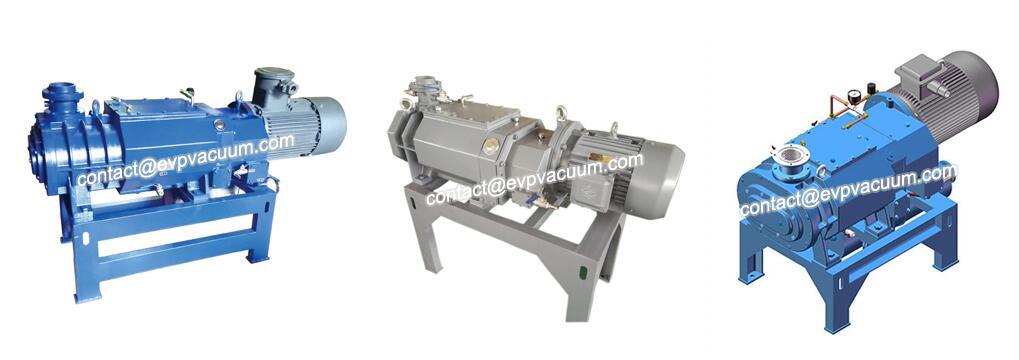 Screw vacuum pump in ABS plastic raw material
