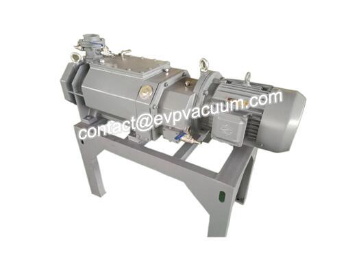 Screw vacuum pump in nylon resin drying