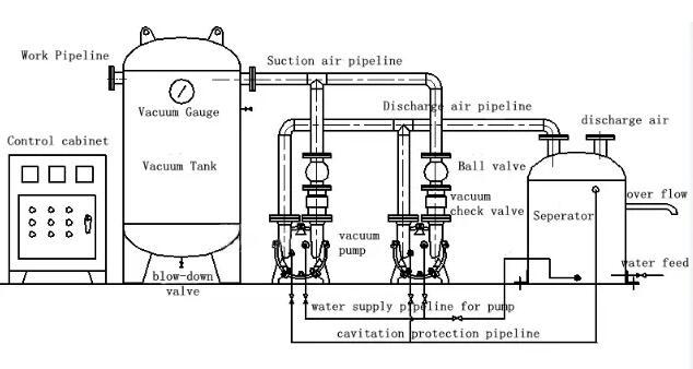 Vacuum pump c cannibalism theory